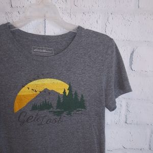 Eddie Bauer hiking t-shirt
